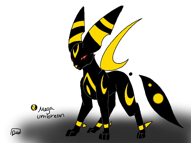 Mega Umbreon Would be the best tank ever