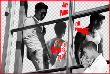 Jay Park - The Promise (PNG's Renders Pack) by Jejegaga