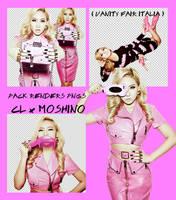 CL x Moschino - Vanity Fair Italy (Pack Renders) by Jejegaga