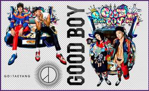 GD x Taeyang - Good Boy (PNGs Renders Pack) by Jejegaga