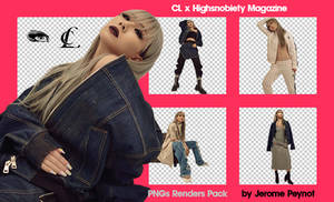 CL x Highsnobiety Magazine (PNGs Renders Pack) by Jejegaga