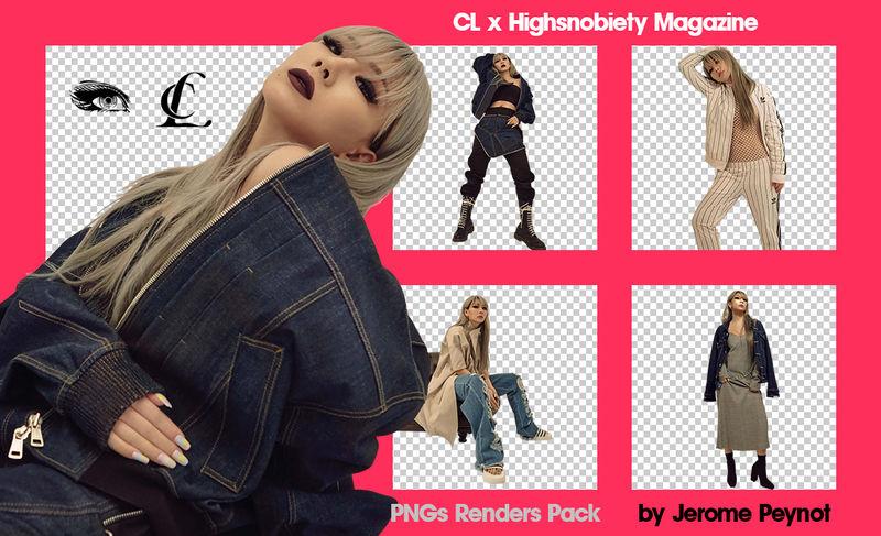 CL x Highsnobiety Magazine (PNGs Renders Pack) by Jejegaga