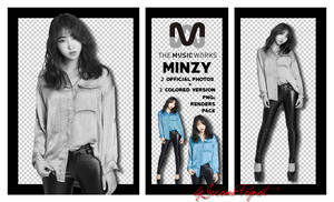 MINZY - Official Photos - Music Works (PNGs Pack) by Jejegaga