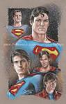 Supermen Drawing