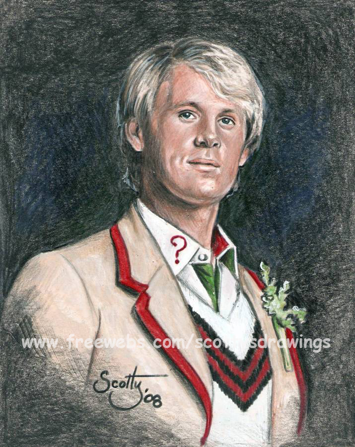The 5th Doctor by scotty309