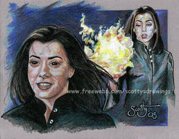 Dark Witch Willow by scotty309