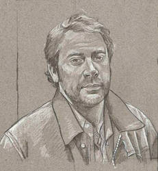 John Winchester Quick Study by scotty309