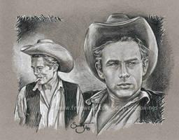 James Dean by scotty309