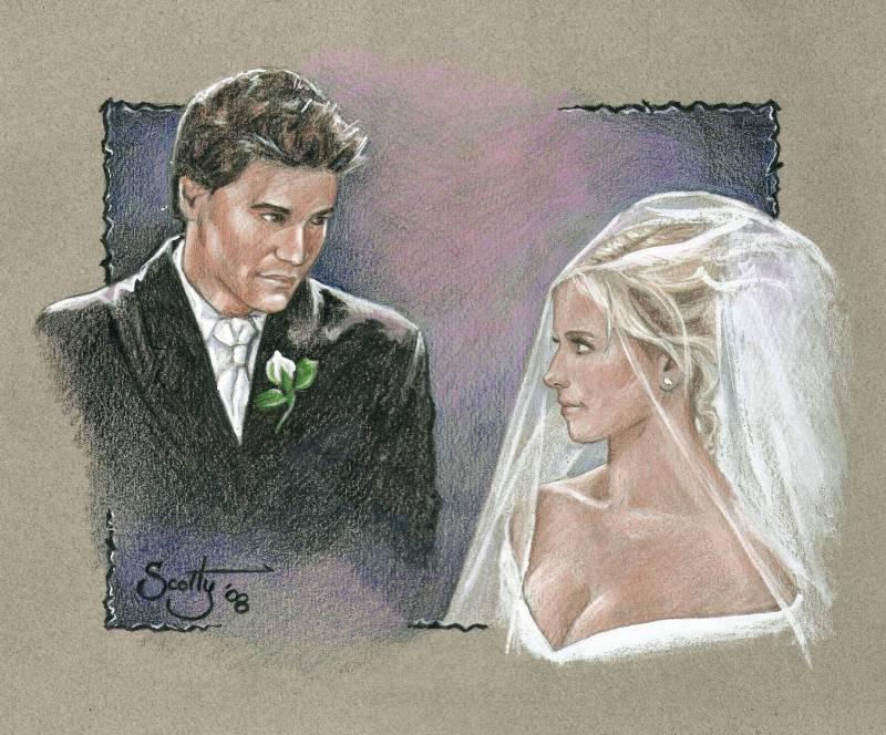 Buffy's Fantasy Wedding by scotty309