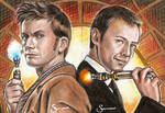 Time Lords Sketch cards