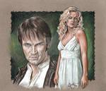 True Blood Bill and Sookie