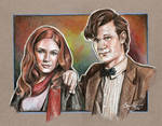 11th Doctor and Amy Pond
