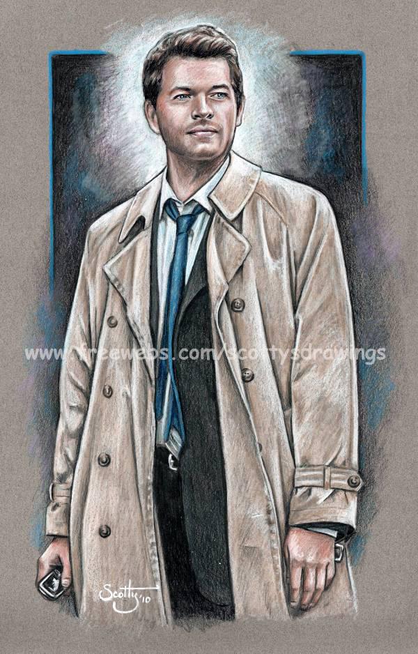Supernatural Castiel 2010 by scotty309