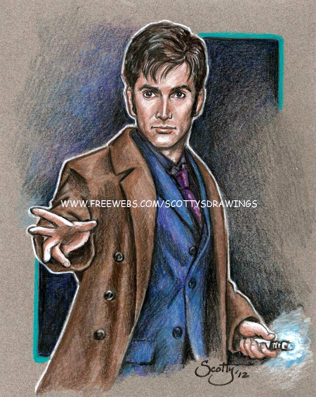 Doctor Who- The 10th Doctor by scotty309
