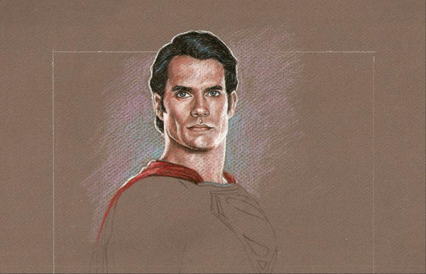 WIP The Man of Steel by scotty309