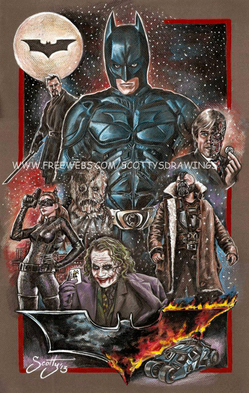 The Dark Knight (2013) by scotty309