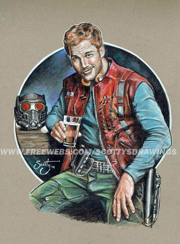 Star Lord And Rocket Raccoon By Timothygreenii On Deviantart: Star Lord (2014) By Scotty309 On