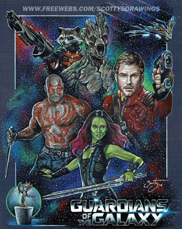 Guardians Of The Galaxy (2014) by scotty309