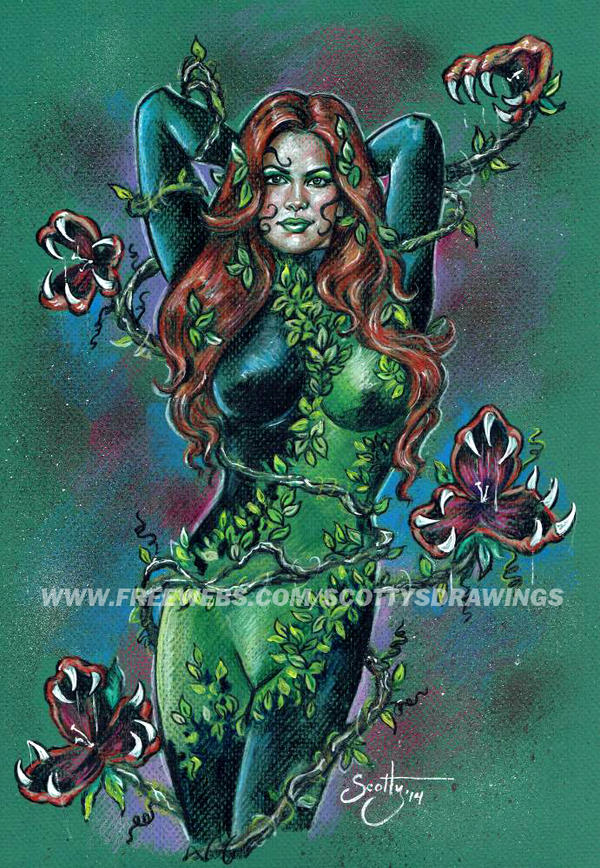 Poison Ivy - New 52 (2014) by scotty309