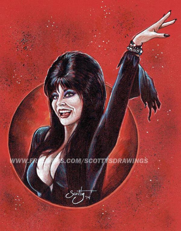 Elvira - Mistress Of The Dark (2014) by scotty309