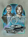 Supernatural- The Brothers Winchester (2015)