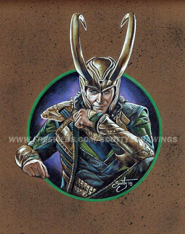 Avengers - Loki (2015) by scotty309