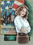 CAPTAIN AMERICA - AGENT CARTER 2015