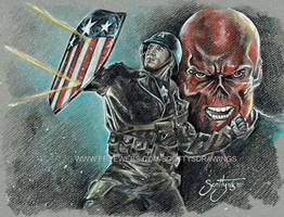 Captain America - Star Spangled Man (2015) by scotty309