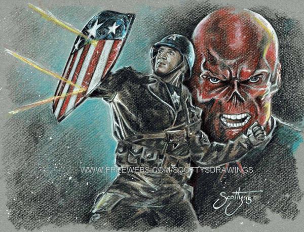 Captain America - Star Spangled Man (2015) by scotty309