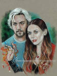 Quicksilver and Scarlett Witch (2015)