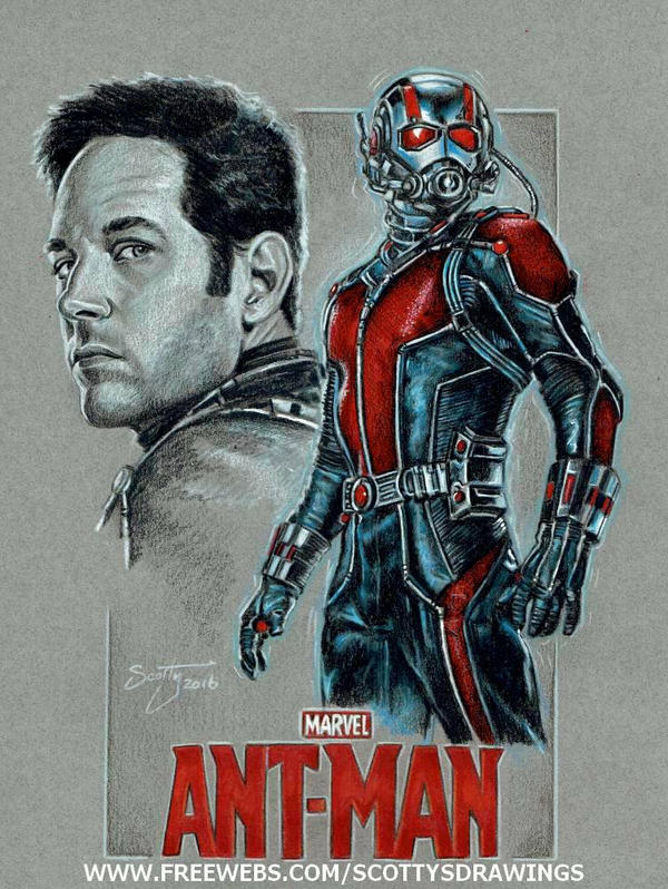 Ant- Man (2016) by scotty309