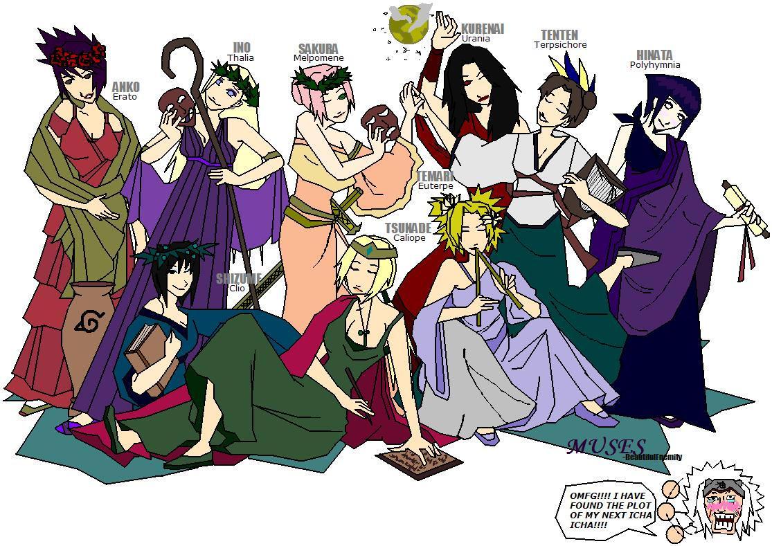 Muses by BeautifulEnemity