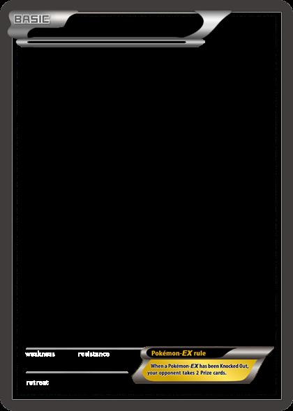 bw pokemonex white card blank templatetheketchi on