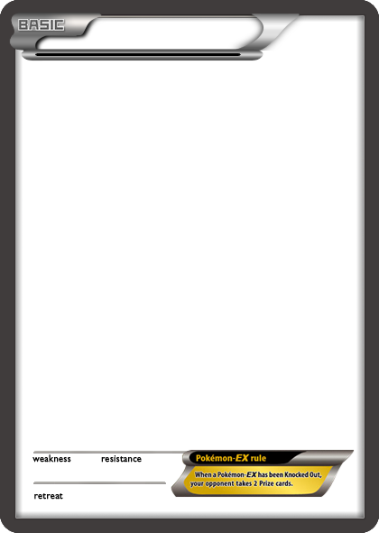 Bw Pokemon Ex Black Card Blank Template By The Ketchi