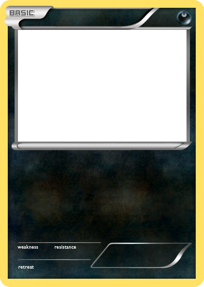 BW Dark basic Pokemon card blank by The-Ketchi on DeviantArt