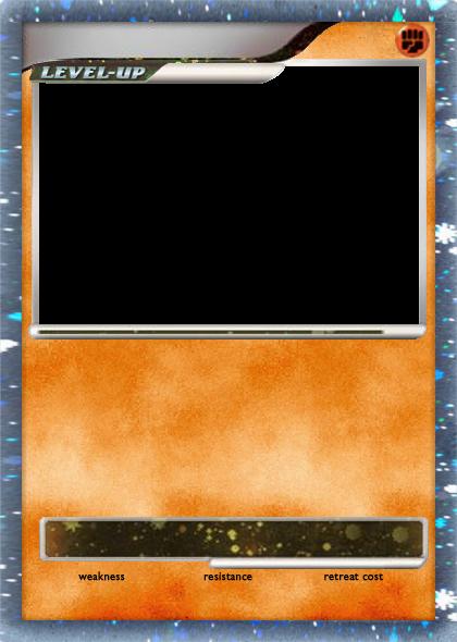 Blank Water Pokemon Card