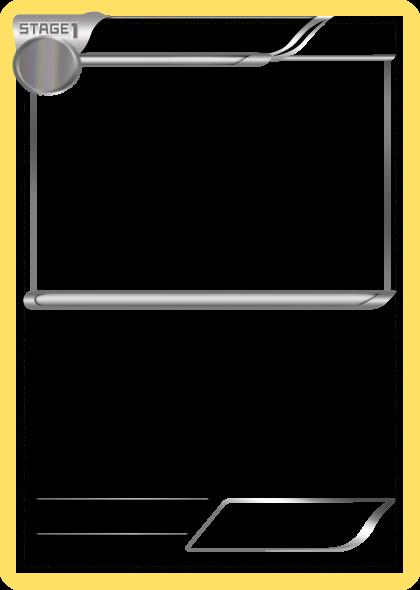 pokemon templates print - blank pokemon cards printable pictures to pin on pinterest