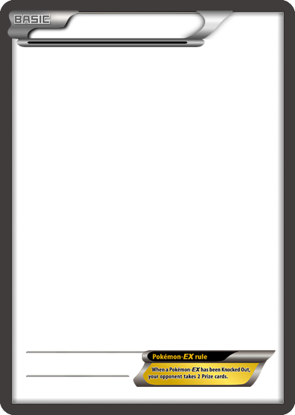 BW Pokemon-EX no text card blank template by The-Ketchi on DeviantArt