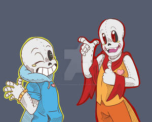 toy Sans and Toy Papyrus? IDK