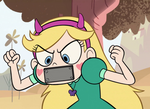 Gagged Star Butterfly