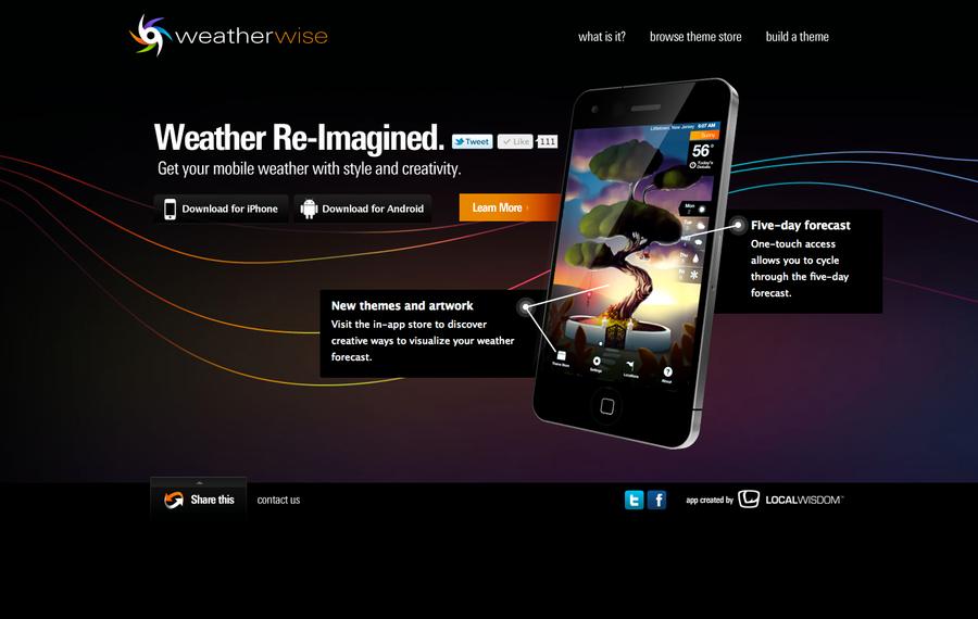 Weatherwise website by rjayhaluko