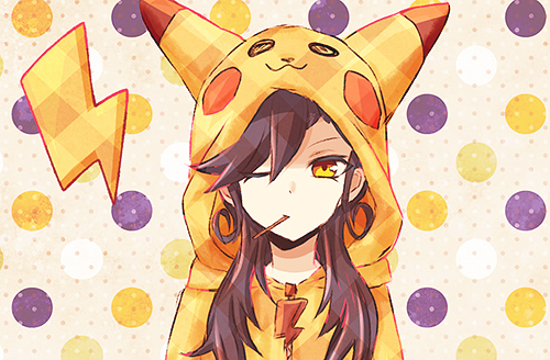 Tumblr Anime Pikachu Girl