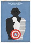 The Winter Soldier minimalist poster
