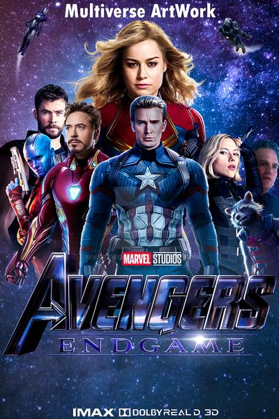Avengers EndGame Poster MVA By MVArtWorks On DeviantArt