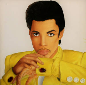 Prince oil painting (without background)