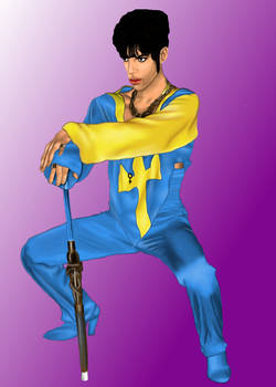 The artist formerly known as Prince - drawing