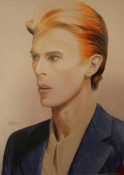 David Bowie drawing (for mycosplaylaracroft)