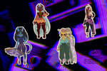 {REDUCED PRICES}Hellish Adopts [1/4]OPEN by pointsforshy