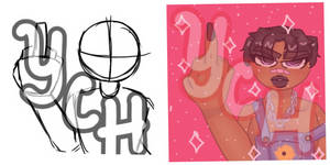 [OPEN] YCH Fuck You Icon~