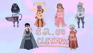 [OPEN]Clearance Adopts